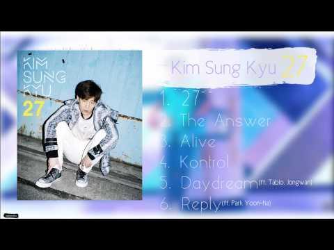 김성규 (Kim Sung Kyu) – 2nd Mini Album '27' FULL ALBUM