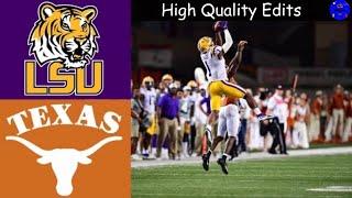 #6 LSU vs #9 Texas Highlights | NCAAF Week 2 | College Football Highlights