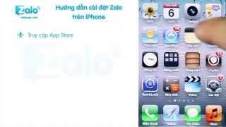 Zalo - Hướng Dẫn Cài Zalo Trên Iphone IOS