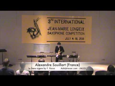3rd JMLISC: Alexandre Souillart (France) Le frene egare by F. Rosse