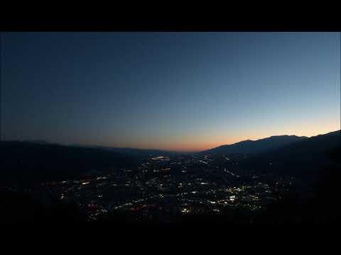 大城山からの夜景-2