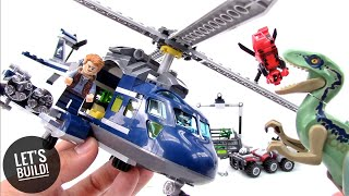 LEGO Jurassic World: Blue's Helicopter Pursuit 75928 - Let's Build!