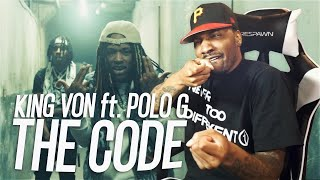 King Von (feat. Polo G) - The Code (REACTION!!!)