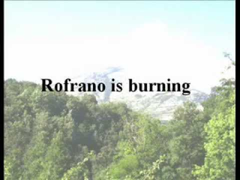 Rofrano is burning