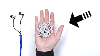 Never Tangle Earbuds - What Is This Sorcery?