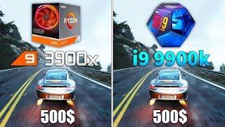 Ryzen 9 3900x vs i9 9900k Test in 9 Games