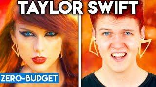 TAYLOR SWIFT WITH ZERO BUDGET! (Bad Blood PARODY)