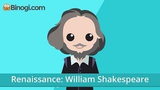 Renaissance: William Shakespeare (English) - Binogi.com