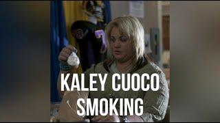 Kaley Cuoco Smoking