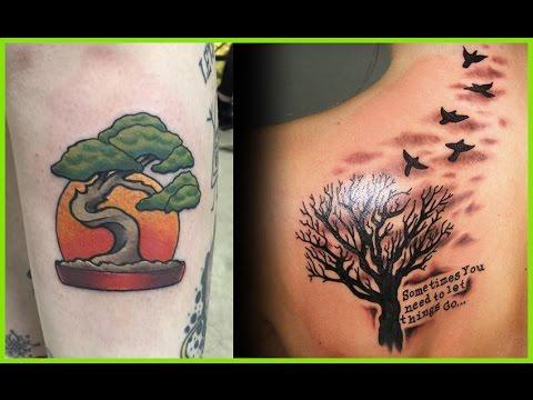 Tatuajes De Arboles Arbol De La Vida Secos De Cereza