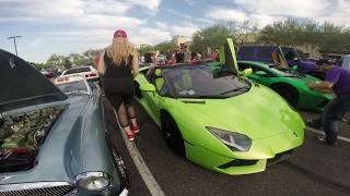 Vlog 33: Cars&Coffee sân chơi của hội Racing Boys giàu có ở Mỹ part 2: siêu xe triệu đô đậu đầy sân