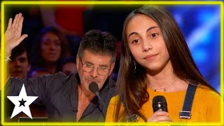 Audience Boo Simon Cowell For Stopping Amazing Kid Singer on AGT 2020 | Kids Got Talent