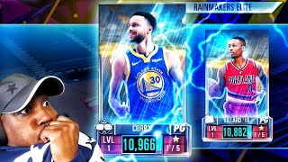 DIAMOND STEPH CURRY In RAINMAKERS PACK OPENING! NBA 2K Mobile Season 3 Gameplay Ep 22
