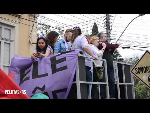 Ato contra Bolsonaro Pelotas/Santa Maria