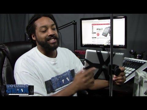 IK Multimedia iKlip 2 iPad mic stand adapter review