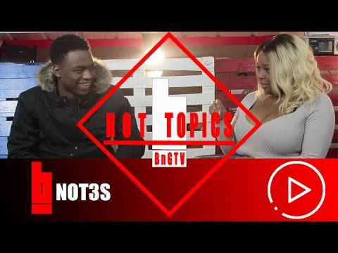 Not3s - Meaning Behind The Name, Make Songs About Girls, Addison Lee   HOTTOPICS   BnG.TV