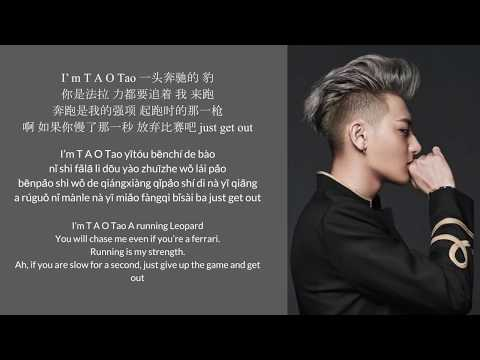 Hater - Tao黄子韬 歌词lyrics (with english translations and pinyin)