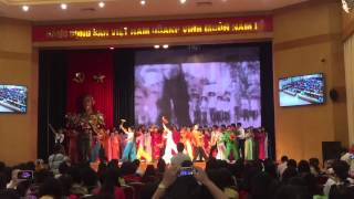 Màn hát múa 19/8 - THCS Nguyễn Du