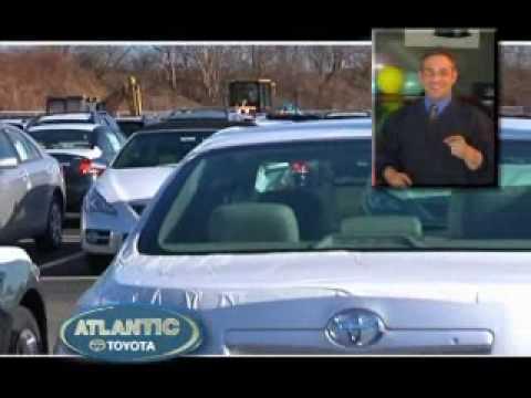 New Service Department Atlantic Toyota