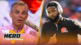 OBJ will never be all-time great, Colin says talent of Cowboys' trio is overstated | NFL | THE HERD