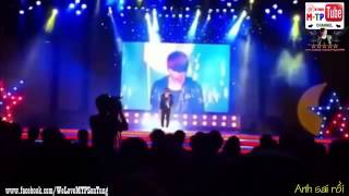 Clip minh oan khả năng hát live của Sơn Tùng M-TP