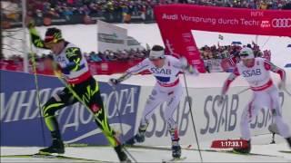 Ski - VM 2015 · Langrenn 4x10 km stafett, menn