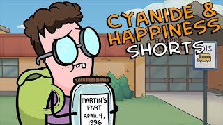 Fart in a Jar Martin - Cyanide & Happiness Shorts