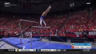 Kyla Ross (UCLA) 2017 Bars vs Utah 10.0