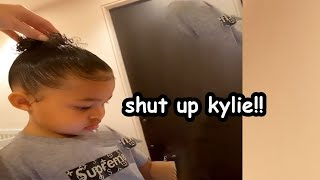 Stomi being mean to kylie for 2 minutes and 22 seconds