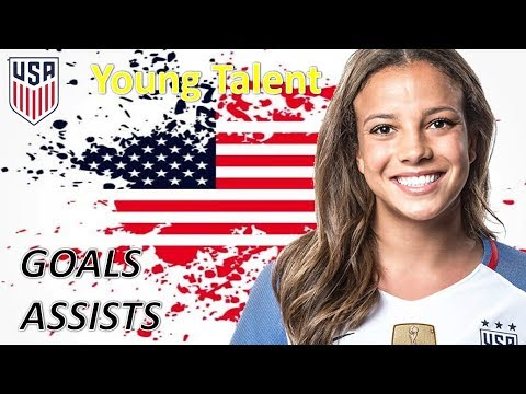 Mallory Pugh | Young Talent | Goals & Assists USWNT
