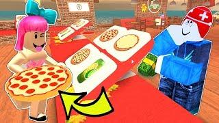 Roblox: I GOT A JOB AT A PIZZA PLACE!!!