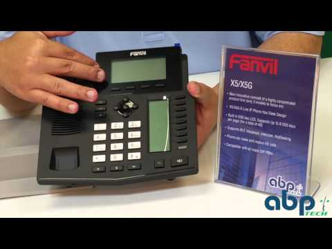 FANVIL X5 Enterprise IP Phone Unboxing