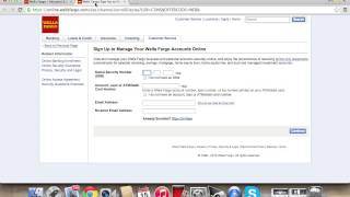Wells Fargo Online Banking Login   How to Access your Account