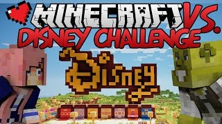 Disney Challenge | Minecraft VS. Ep 15