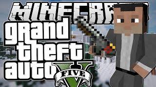 Minecraft | Grand Theft Auto (GTA) | MICHAEL'S MISSION! | Mods Showcase [Funny Moments]