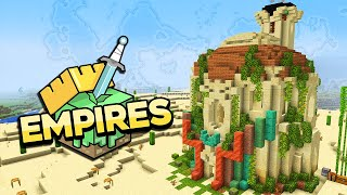 Empires SMP ▫ A Desert Empire Begins! ▫ Minecraft 1.17 Let's Play [Ep.1]