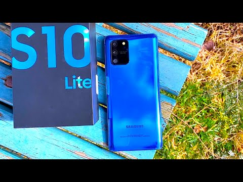 video Samsung Galaxy S10 Lite Mobile Phone Snapdragon 48MP 4500mAh  Smartphone
