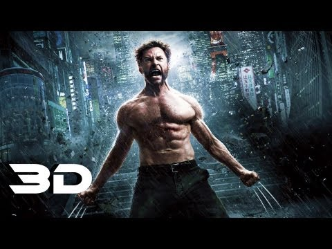 The Wolverine - International Trailer In 3D (2013) Marvel