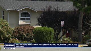 Former Seattle Seahawk, Richard Sherman, was arrested Wednesday