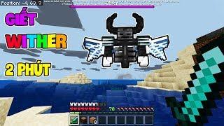 5 Cách Để Hạ Những Con Quái Vật CỰC MẠNH Trong Minecraft - Giết Wither Trong 2 Phút