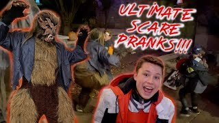 Halloween Pranks on Trick-or-Treaters!