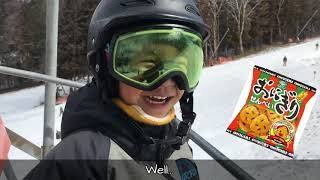 6 year-old Snowboarder Kanade 3rd Season 18-19