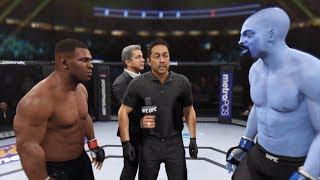 Mike Tyson vs. Genie (EA Sports UFC 2) - CPU vs. CPU