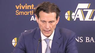Quin Snyder on Rudy Gobert's ejection in the Utah Jazz's win against the Houston Rockets