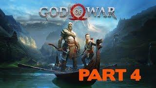 God Of War - PS4 - Playthrough - Part 4