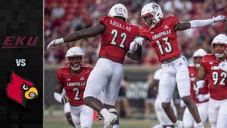 Eastern Kentucky vs. Louisville Football Highlights (2021)