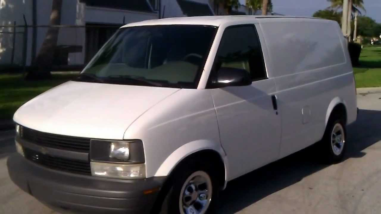 For Sale 2002 Chevy Astro Cargo Van Www Southeastcarsales