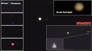 TELESCOPE JUPITER: UFO & Flash, Great Red Spot, Antares, Jun 28, 2018