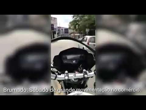 Moradores descumprem orientação de isolamento social e lotam ruas de Brumado