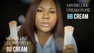 TRY IT THURSDAYS | MAYBELLINE DREAM PURE VS. MAYBELLINE DREAM FRESH